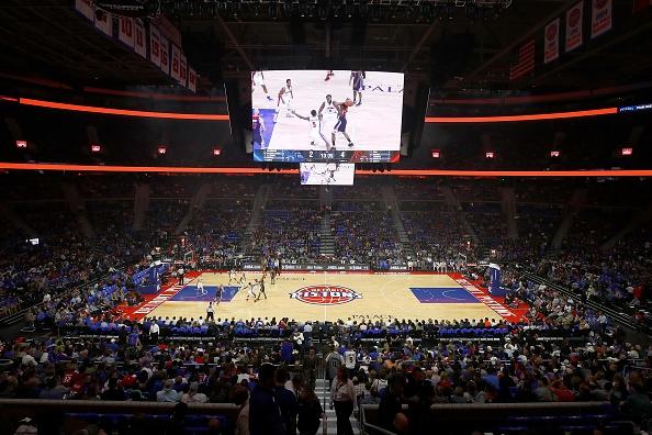 Легендарната спортна зала The Palace of Auburn Hills, в която