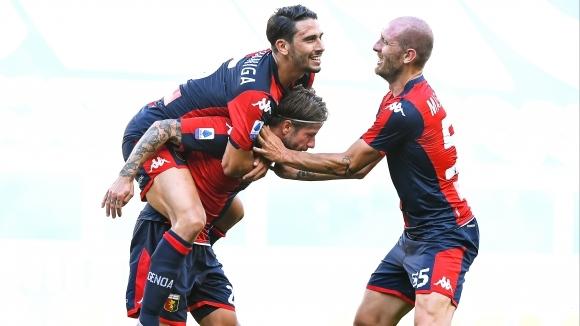 Отборът на Дженоа постигна важна победа с 2:0 при домакинството