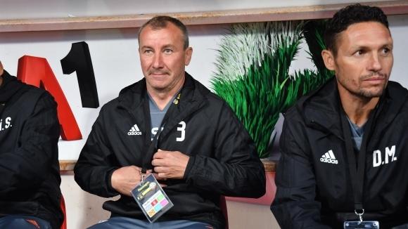 Наставникът на ЦСКА-София Стамен Белчев обяви, че целта му е