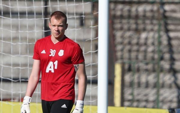 Вратарят Витаутас Черниаускас приключи с ЦСКА-София. Той се разделя с
