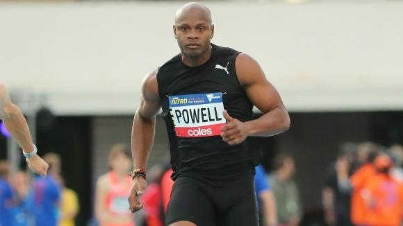 Асафа Пауъл направи своя първи старт на 100 метра за