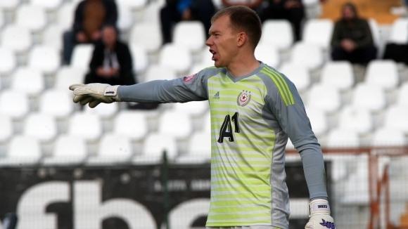 ЦСКА-София се раздели със стража Витаутас Черниаускас. Литовецът и клубът