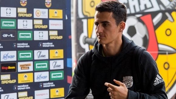 Българският национал Георги Костадинов може да пропусне следващите два мача