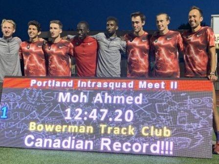 Много силни резултати бяха постигнати в бягането на 5000 м
