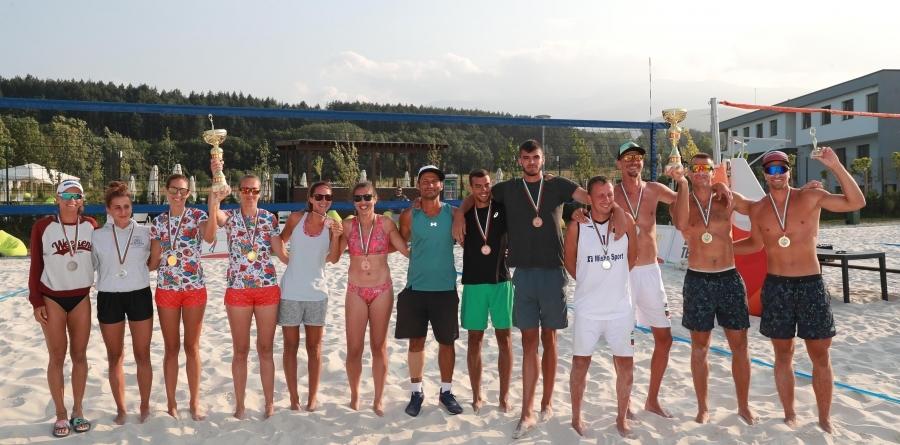 Българска и сръбска двойка триумфираха на международния турнир по плажен