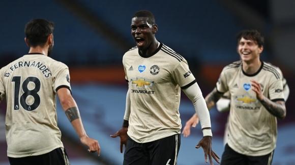 Пол Погба е доволен от прогреса, който прави Манчестър Юнайтед.