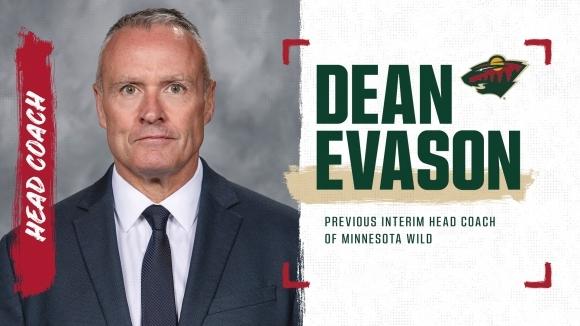 Минесота подписа постоянен договор със старши треньора Дийн Евасън, който