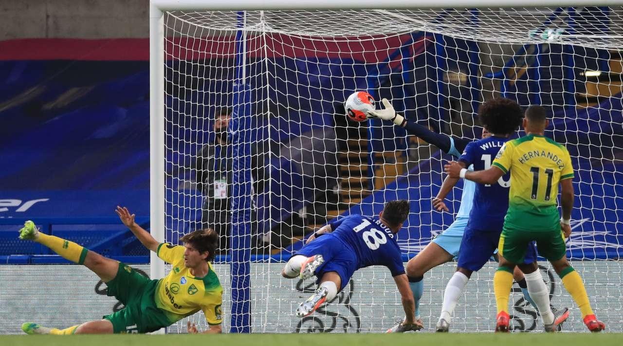 Отборът на Челси играе при 0:0 с Норич в двубой