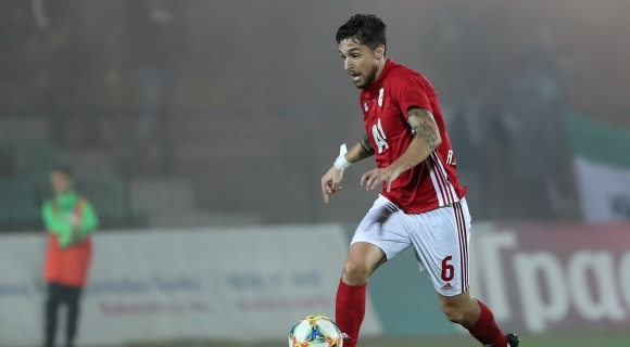 Доскорошният халф на ЦСКА-София Рубен Пинто по всяка вероятност ще