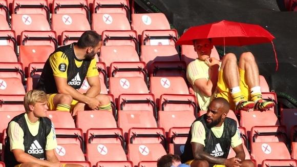 Мениджърът на Арсенал Микел Артета говори за състоянието на плеймейкъра
