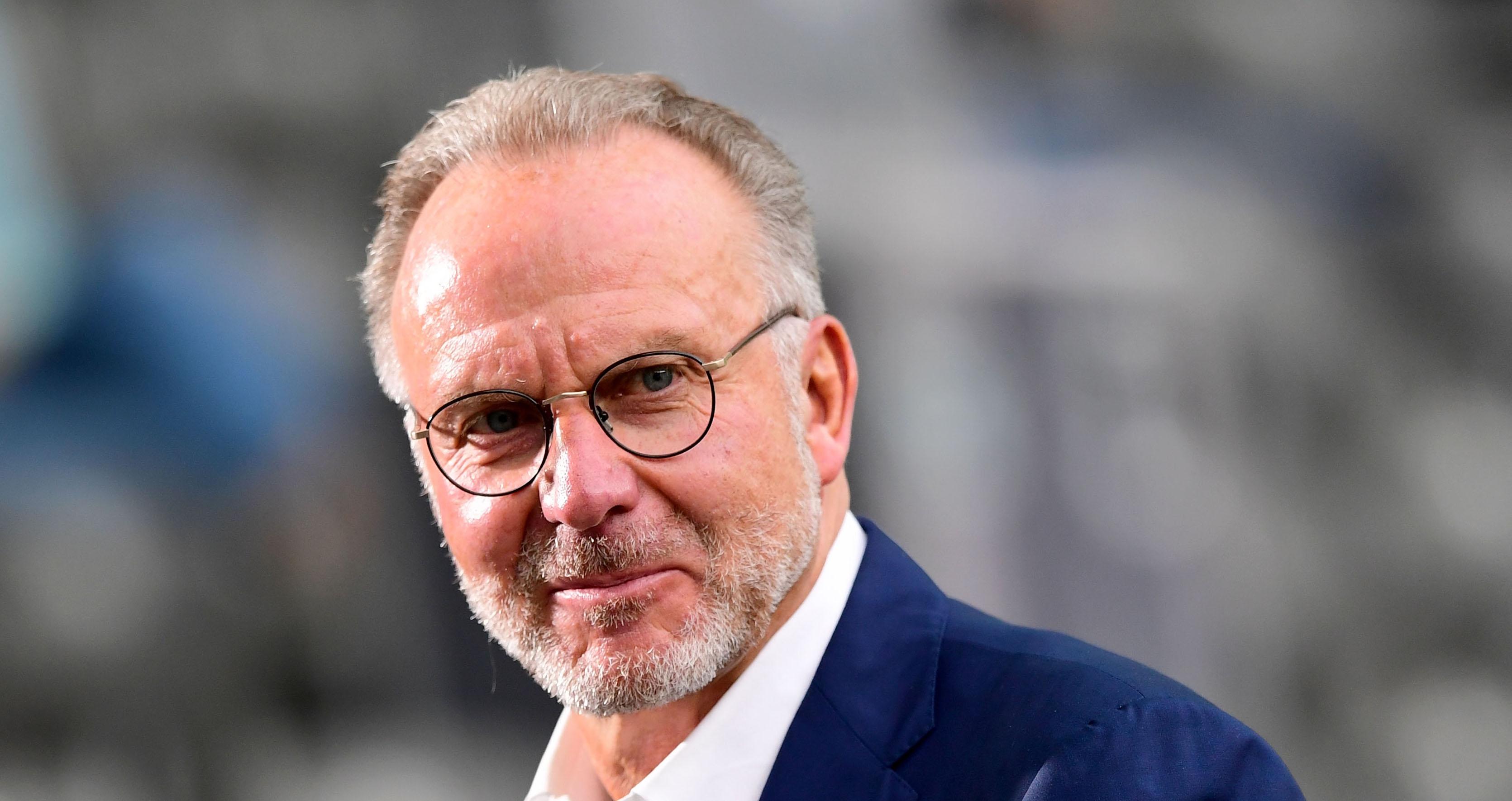 Шефът на Борда на директорите на Байерн (Мюнхен) Карл-Хайнц Румениге