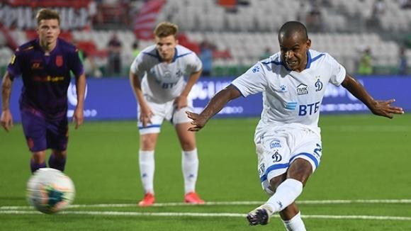 Бившият халф на Левски Жоаозиньо вкара единствения гол за Динамо