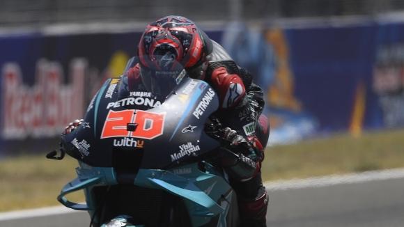 Французинът Фрабио Куартараро спечели своята първа победа в MotoGP в