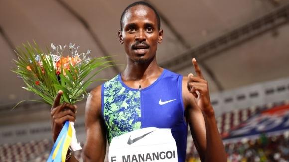 Световният шампион в бягането на 1500 метра Илайджа Манангой от