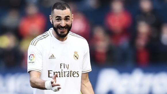 Голмайсторът на Реал Мадрид Карим Бензема не оцени похвалата, която
