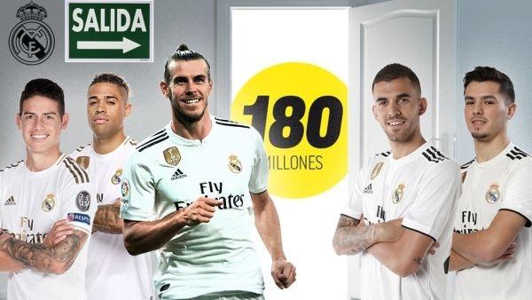 Шампионът на Испания Реал Мадрид планира да се освободи от