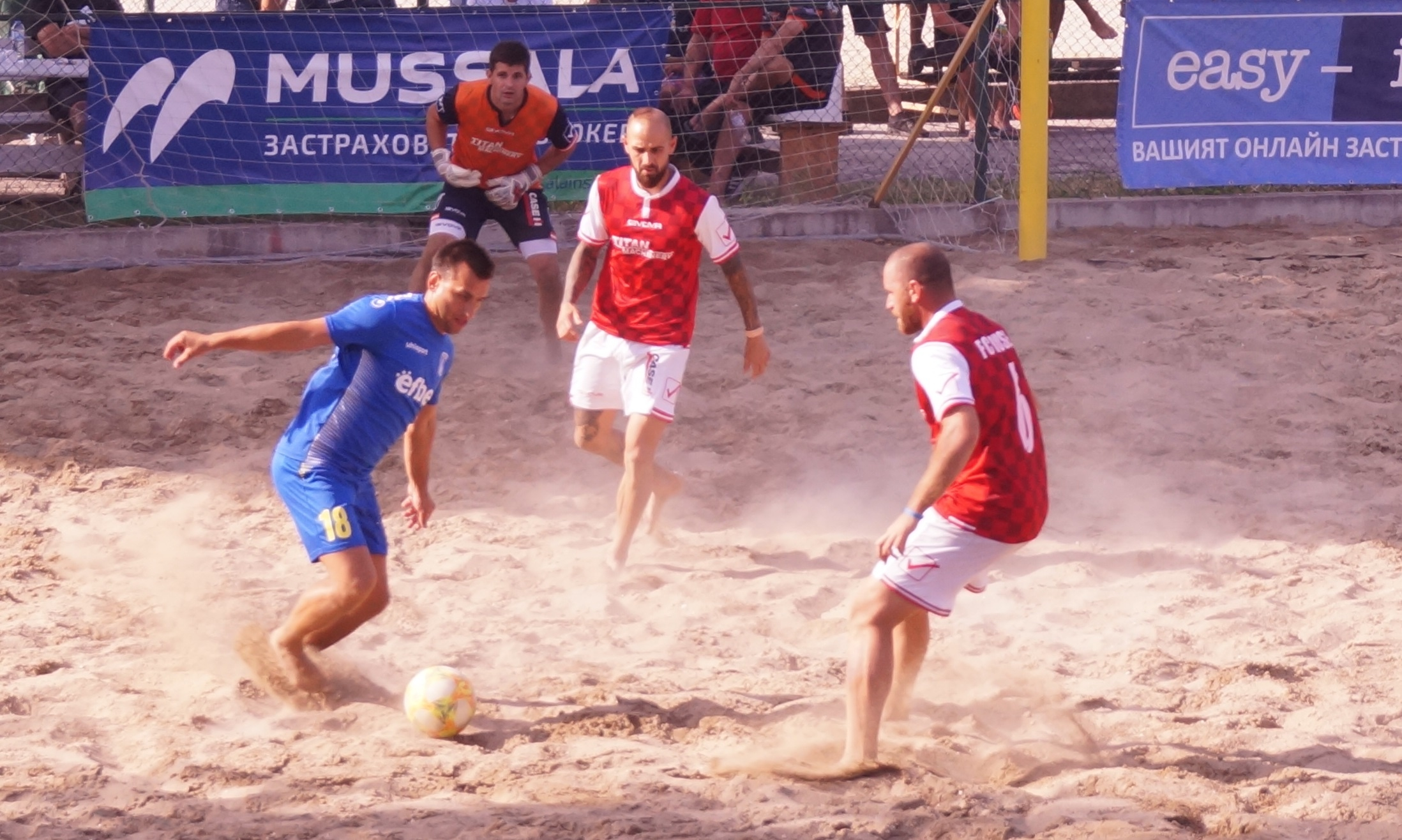 ФК Русе записа втора победа в Mussala Национална лига beach