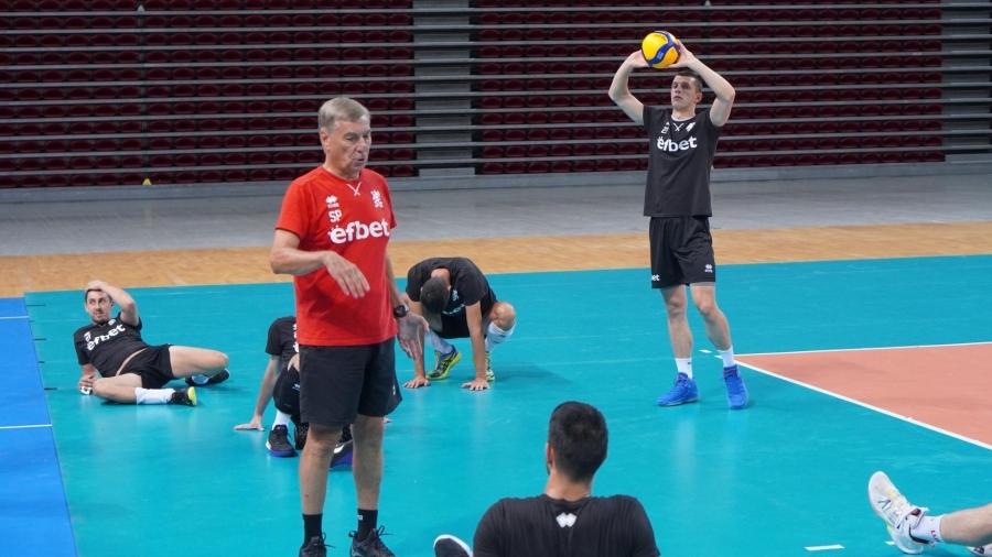 Селекционерът на мъжкия национален отбор по волейбол на България Силвано