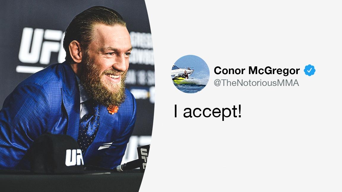 Голямата звезда на UFC, Конър Макгрегър обяви в своя акаунт