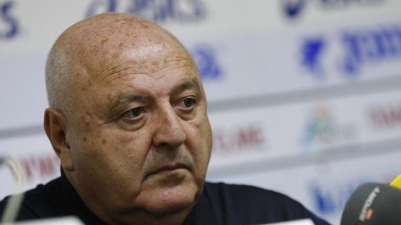 Президентът на Славия Венцеслав Стефанов, който е и член на