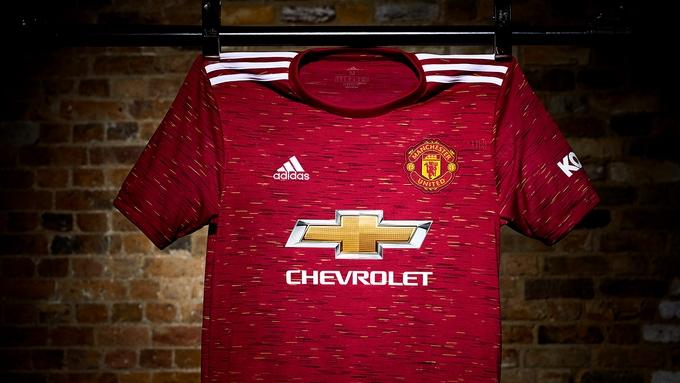 Манчестър Юнайтед представи новия си домакински екип за сезон 2020/21,