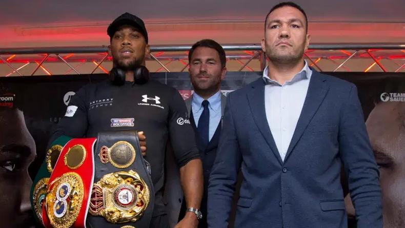 Антъни Джошуа (Великобритания) ще защитава световните си титли по бокс
