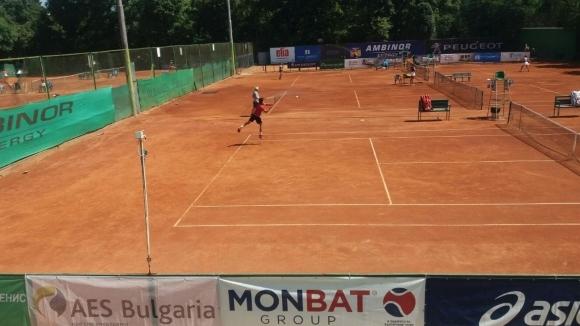 Днес станаха ясни четвъртфиналите на Държавното лично първенство по тенис