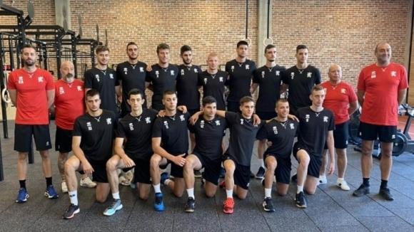 Волейболистите от националния отбор за младежи до 20 години тестваха