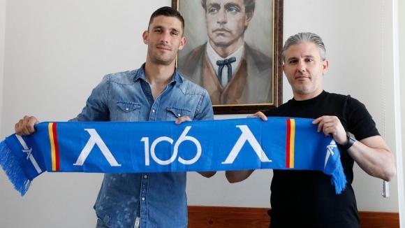 ПФК Левски подписа договор за две години със защитника Живко