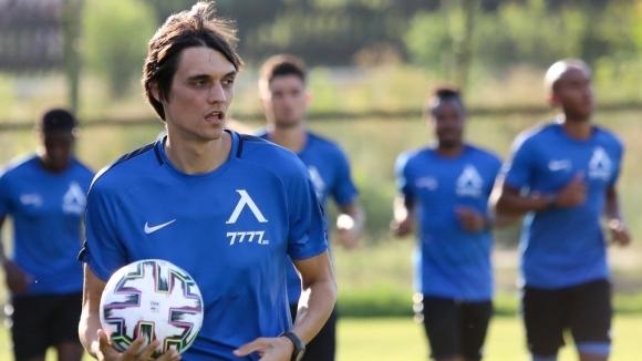 Новото попълнение на Левски Живко Атанасов проведе първа тренировка със