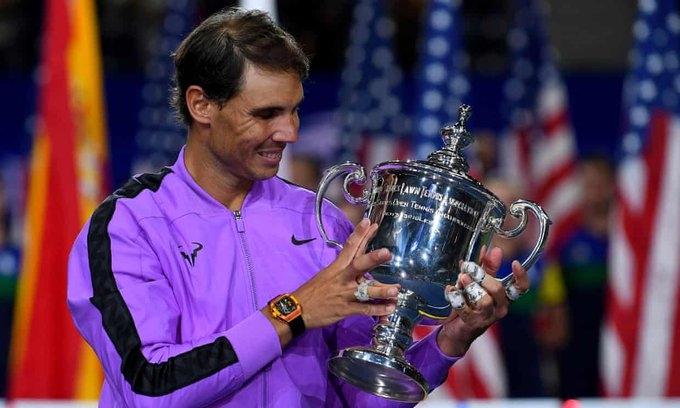 Шампионът от последното издание на US Open Рафаел Надал официално