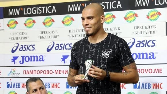 Един от сравнително успешните чуждестранни нападатели, преминали през ЦСКА-София, отново