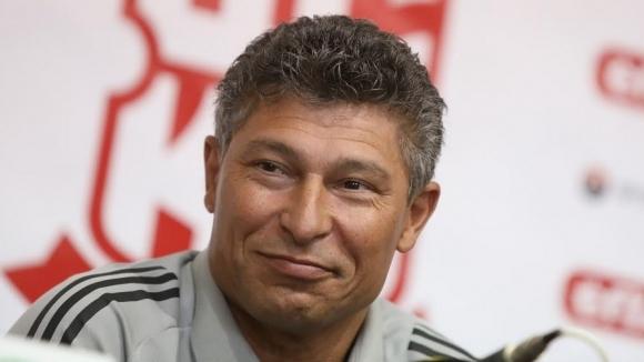 Наставникът на ЦСКА 1948 Красимир Балъков заяви, че е спокоен