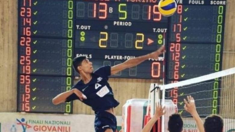Българският волейболен талант Габриел Димитров се завръща в Италия. Младият