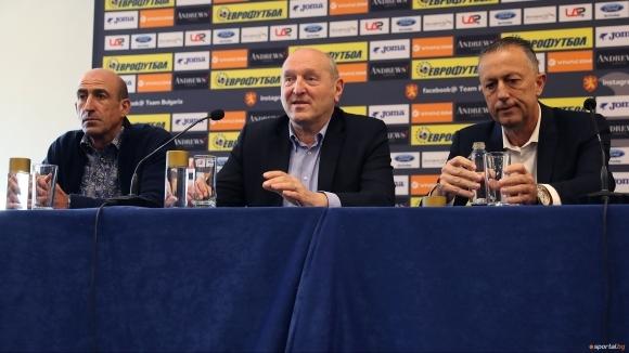 Ръководството на Българския футболен съюз пожелава успех на клубовете от