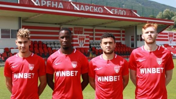 Елитният Царско село подписа договор с четирима нови футболисти няколко