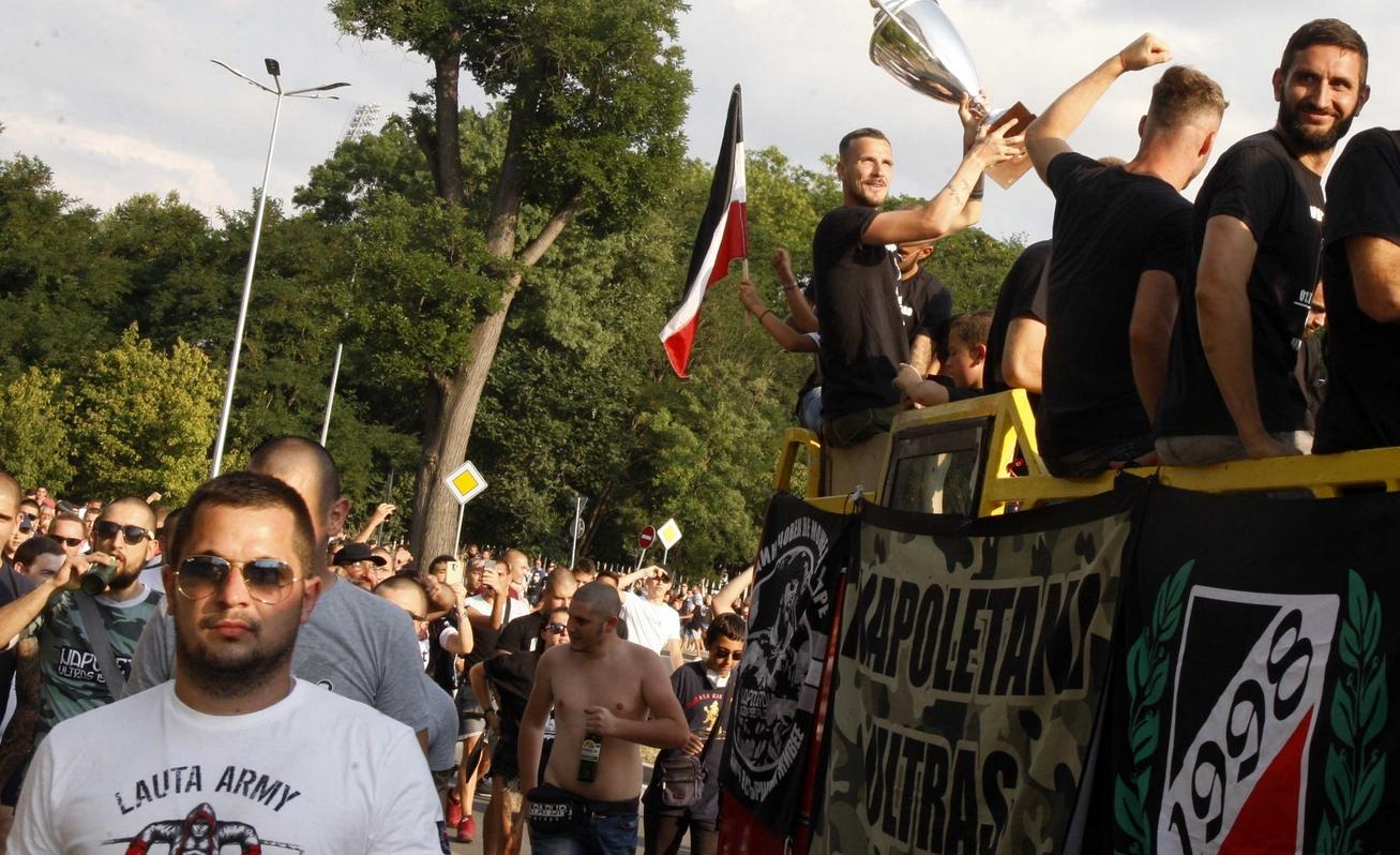 Фенклуб Локомотив (Пловдив), Lauta army и World Wide Locos представиха