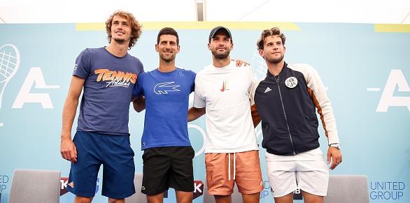 Играчите от Топ 20 на ATP, сред които и 19-ият