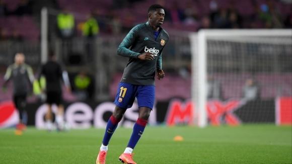 Усман Дембеле не бе включен в групата на Барселона за