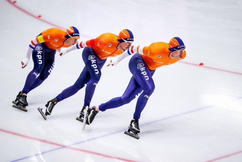 Световното първенство по бързо пързаляне с кънки, което беше пренасрочено
