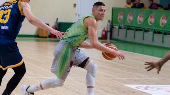 Българският баскетболист Николай Стоянов ще бъде част от тима на