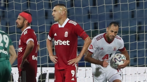 Капитанът на ЦСКА-София Петър Занев изрази разочарование, че тимът му