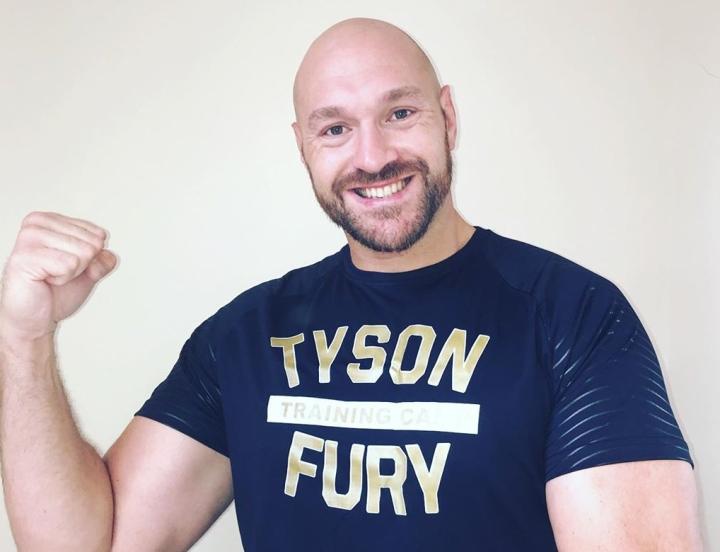 Шампионът на WBC в тежка категория, Тайсън Фюри, вече постигна