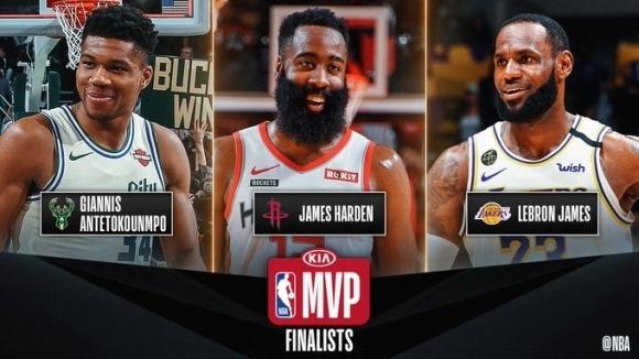 Националната Баскетболна Асоциация обяви финалистите за ежегодните индивидуални награди, връчвани