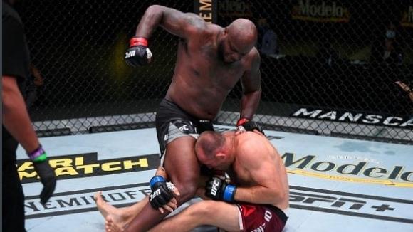 Дерек Люис спечели главния двубой на галавечерта UFC Vegas 6