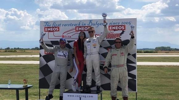 Иван Влъчков с Honda Civic спечели победата в серия Туринг