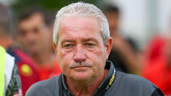 Старши треньорът на Ботев (Пловдив) Ферарио Спасов сподели първите си