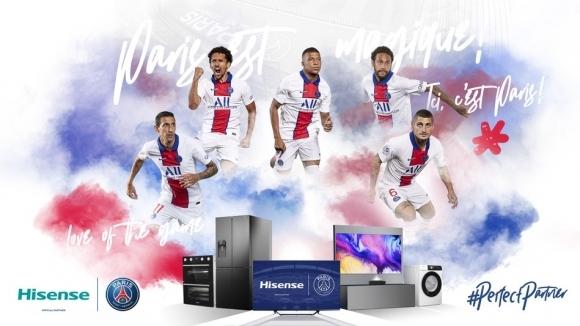 Френският шампион по футбол Пари Сен Жермен подписа дългосрочен спонсорски