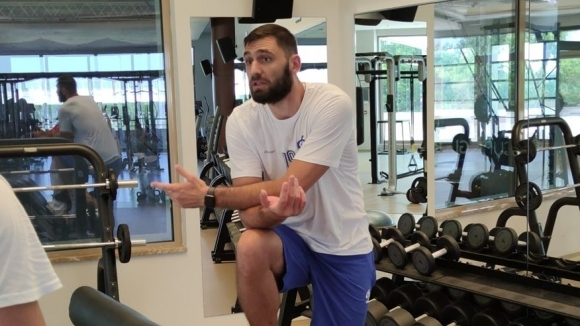 Волейболният национал на България Цветан Соколов се присъедини към лагера