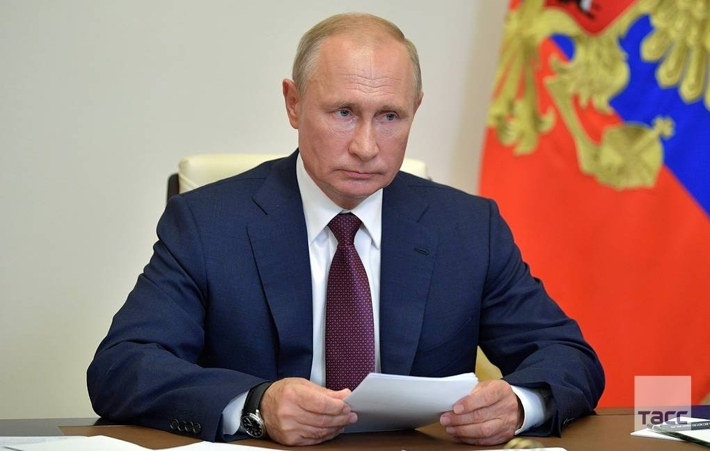 Президентът на Русия Владимир Путин каза, че Русия първа в